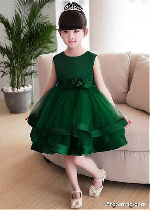 لباس ساتن بچه گانه دوست داشتنی