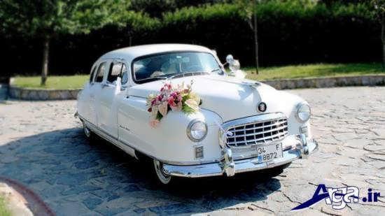 تزیین کردن ماشین عروس