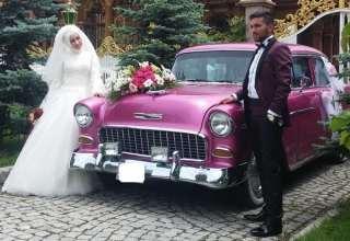 ماشین عروس ساده با تزیینات شیک و متفاوت