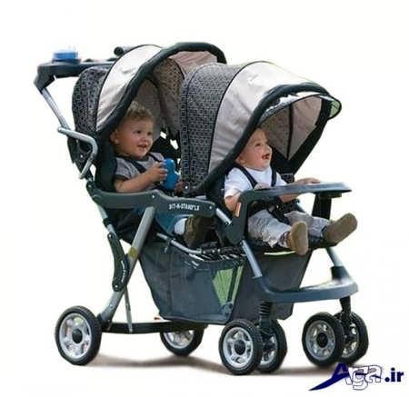 مدل کالکسه برای نوزادان دوقلو