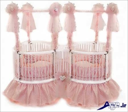 مدل گهواره نوزادان دوقلو