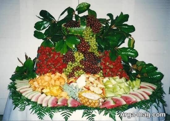 تزیینات میوه روی میز