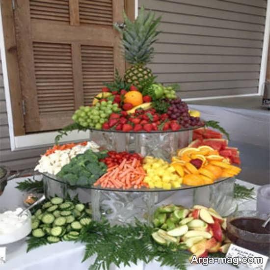 ایده میوه آرایی روی میز