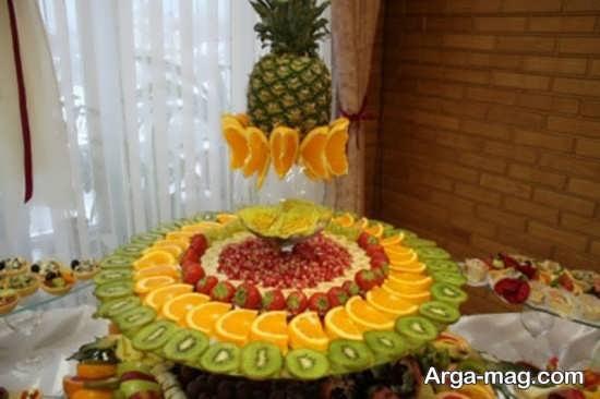 انواع میوه آرایی روی میز