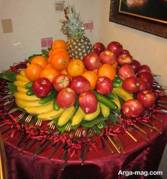 شیک ترین تزیینات میوه روی میز