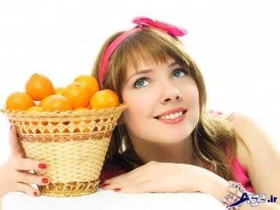 مزیت های نارنگی برای پوست