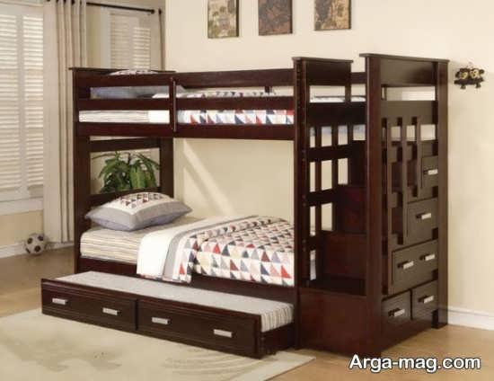 تختخواب نوجوان دو طبقه و جدید