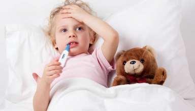 علت ایجاد تب در کودکان