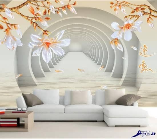 کاغذ دیواری های پذیرایی