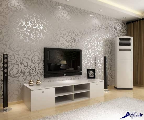 مدل جدید کاغذ دیواری اتاق پذیرایی