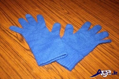 آموزش بافت دستکش 5 انگشتی