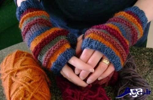 آموزش بافت دستکش با دو روش متفاوت و بی نظیر