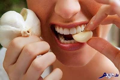سیر برای درمان درد شدید دندان