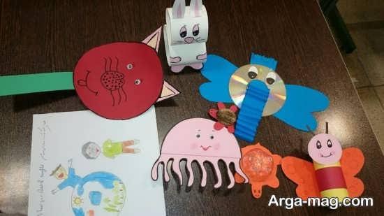 کاردستی زیبا برای روز کودک