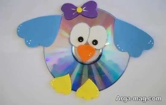 کاردستی با سی دی برای روز کودک