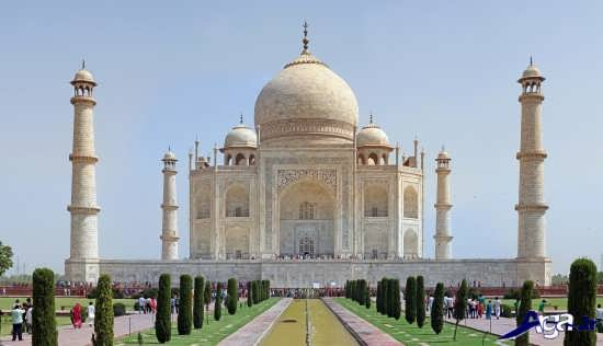 تصویر تاج محل در هند