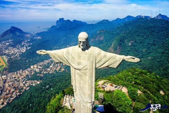 تصویر مجسمه حضرت مسیح