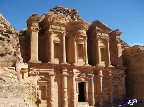 تصویر شهر تاریخی پترا