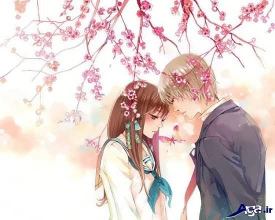 عکس های عاشقانه کارتونی و فانتزی من و تو