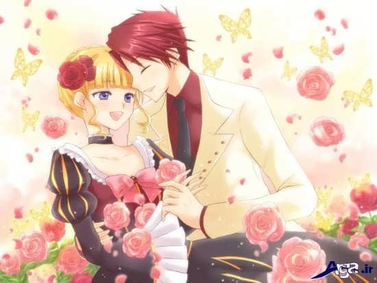 عکس عاشقانه کارتونی جدید