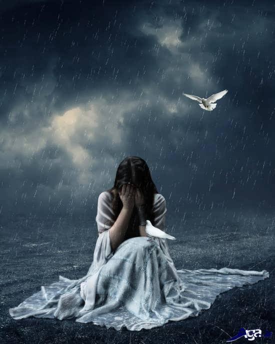 عکس غمگین دخترانه