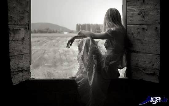 عکس عاشقانه وغمگین تنهایی