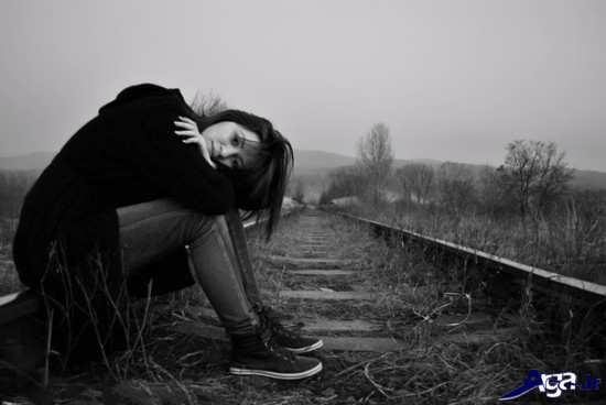 عکس تنهایی دخترانه