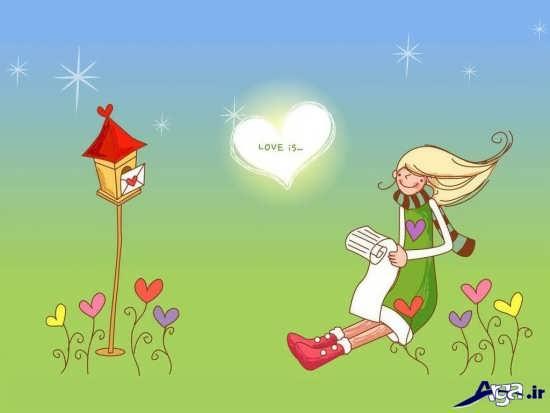 انواع تصاویر زیبای کارتونی دخترانه