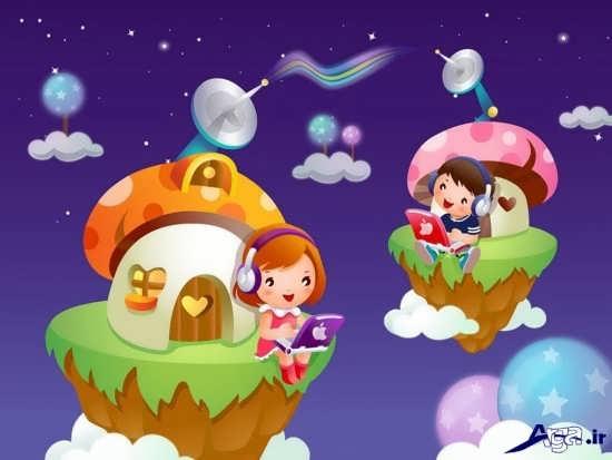 عکس های کارتونی زیبا و جذاب شاد