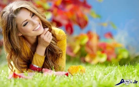 تصویر لبخند زیبا و دلنشین