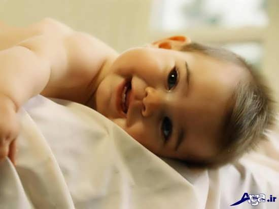 عکس لبخند زیبای بچه