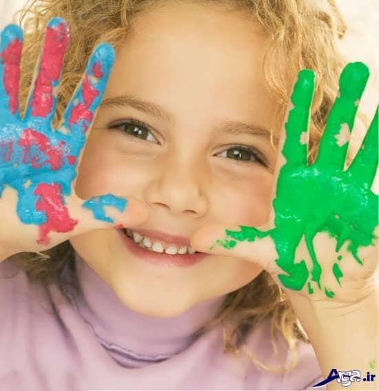 عکس زیبای لبخند بچه