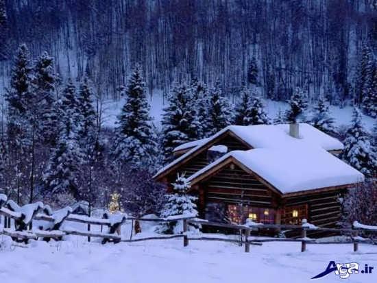 مناظر زیبای زمستانی