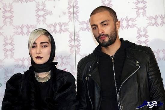 عکس امیر جدیدی و همسرش