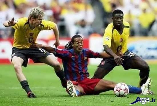 انواع عکس های خنده دار فوتبالی از بازیکنان