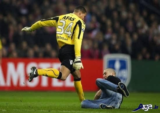 تصاویر خنده دار از فوتبالیست ها