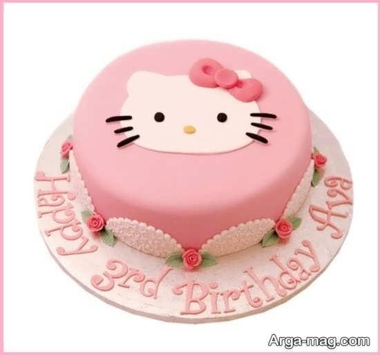 کیک تولد کیتی منحصر به فرد