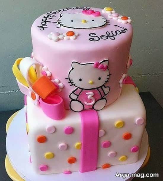 جشن تولد با طرح تماشای کیتی