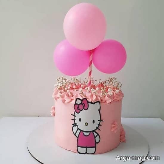 کیک تولد کیتی جدید