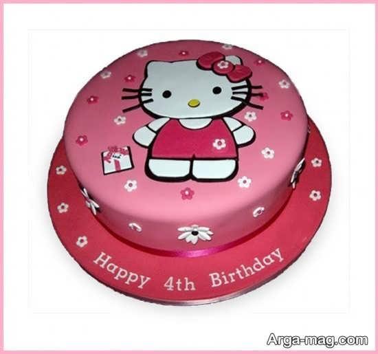 کیک تولد کیتی شیک