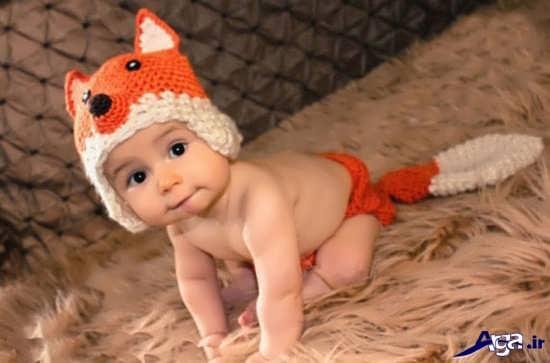 انواع مدل کلاه بافتنی بچه گانه زیبا