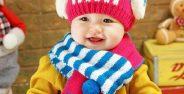مدل کلاه بافتنی بچه گانه بسیار زیبا