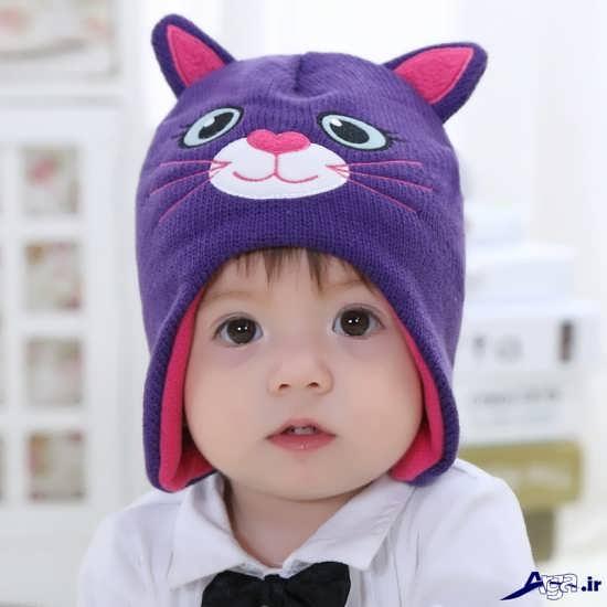 انواع کلاه بافتنی فانتزی پسرانه