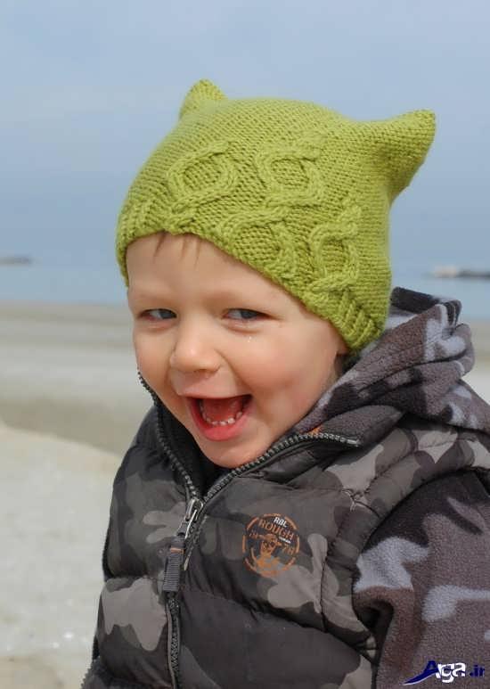 انواع کلاه بافتنی پسرانه