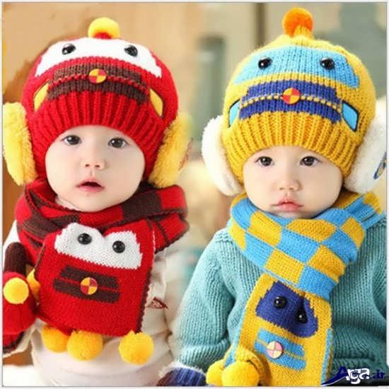 مدل کلاه های بافتنی بچگانه