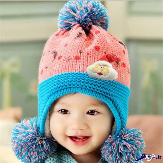 زیباترین مدل کلاه بافتنی بچه گانه