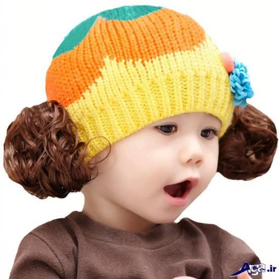 انواع مدل کلاه بافتنی بچه گانه