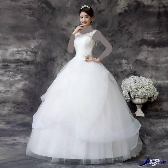 لباس عروس کره ای