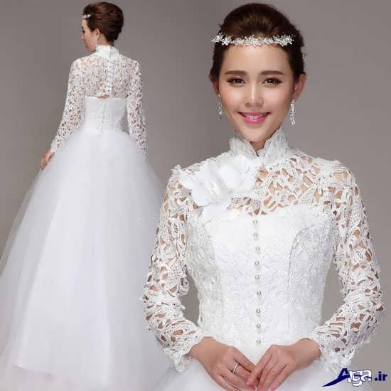 لباس عروس کره ای زیبا و جدید