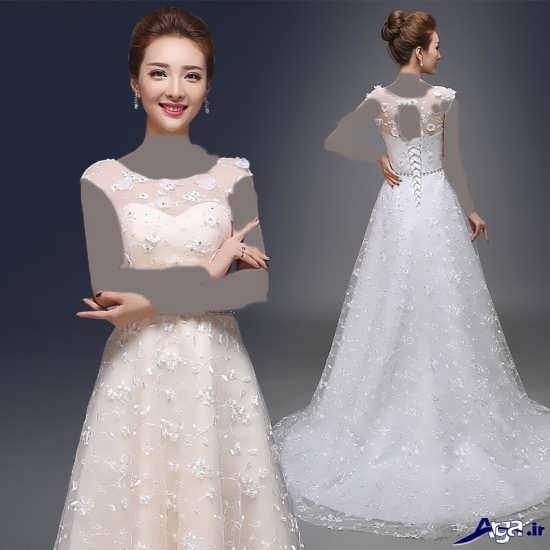 لباس عروس کره ای زیبا